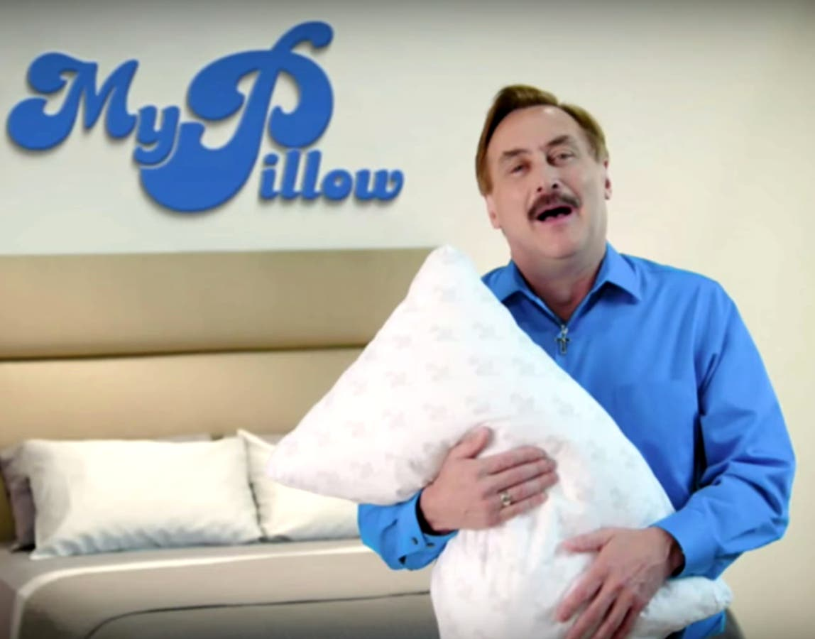 Cardboard Cutout Of Mypillow Ceo Sparks Police Call Northfield Mn Patch