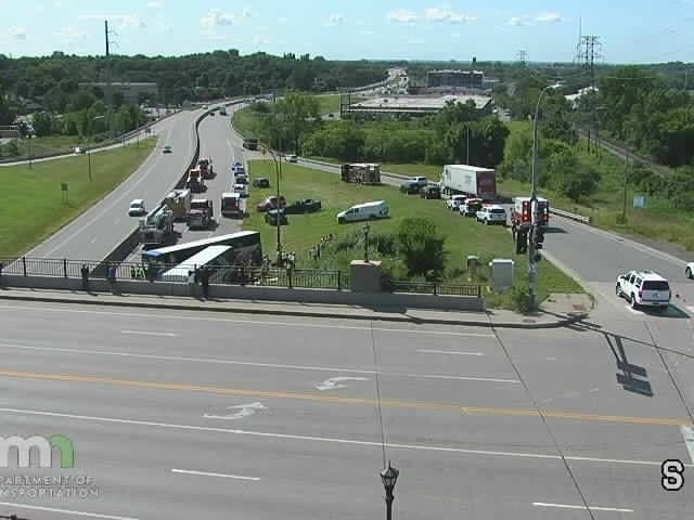 2 Charter Buses Crash On Highway 280: 45 People Involved