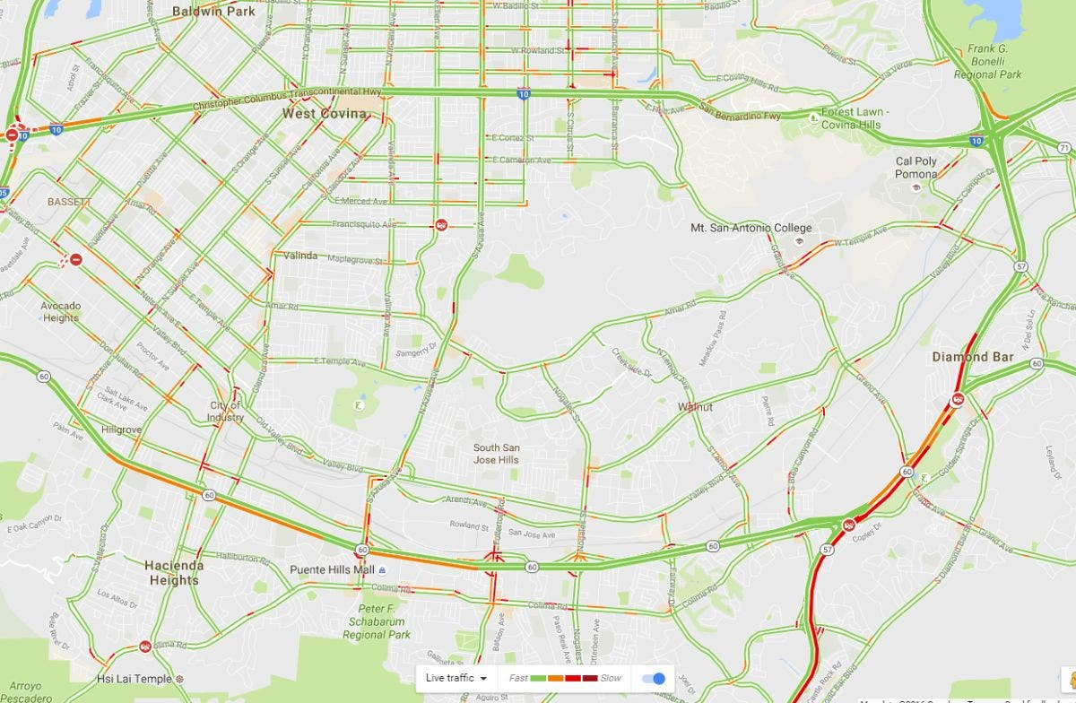 Traffic Woes in Diamond Bar: Los Angeles County | Diamond Bar, CA Patch