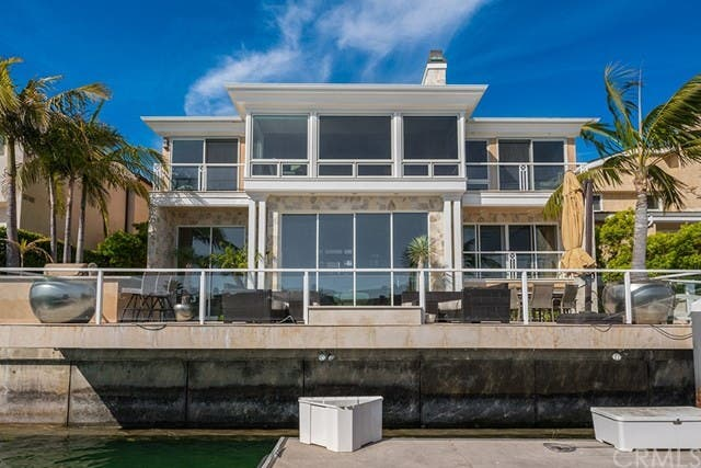 Waterfront Newport Beach Home Houses All Three Of Your