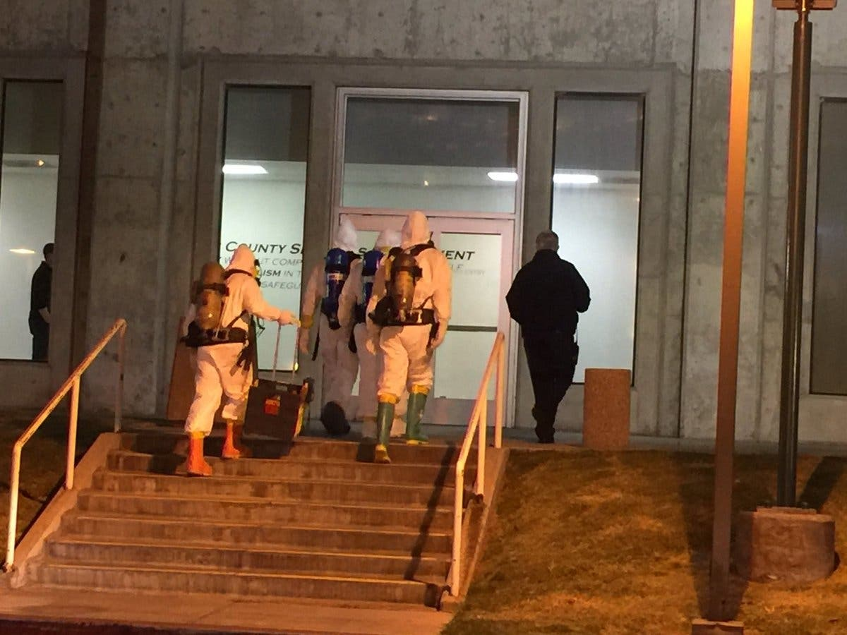 Inmate Sickened, HazMat Team Responds To Orange County Jail