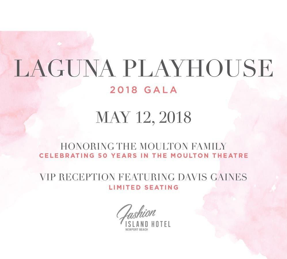 Laguna Playhouse Gala Honors 50 Years Of Theatre | Laguna