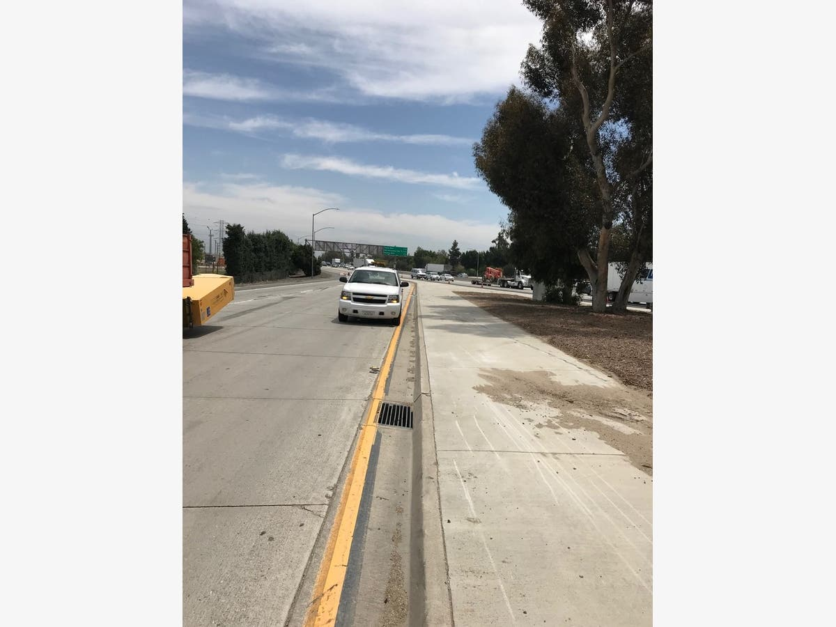 sigalert: seafood floods san gabriel valley freeway monday