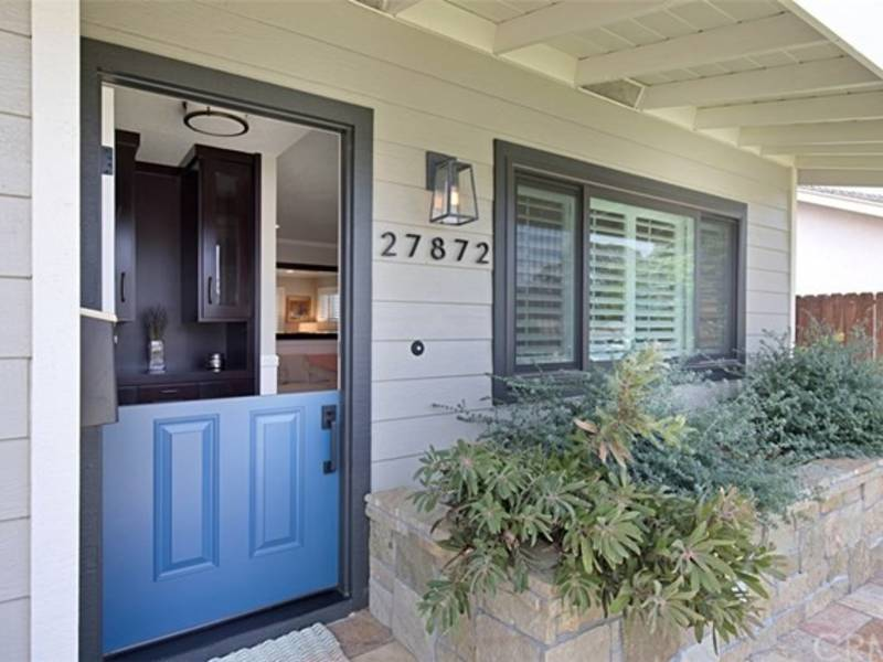 Modern Farmhouse Welcomes You With Dutch Door Amenities