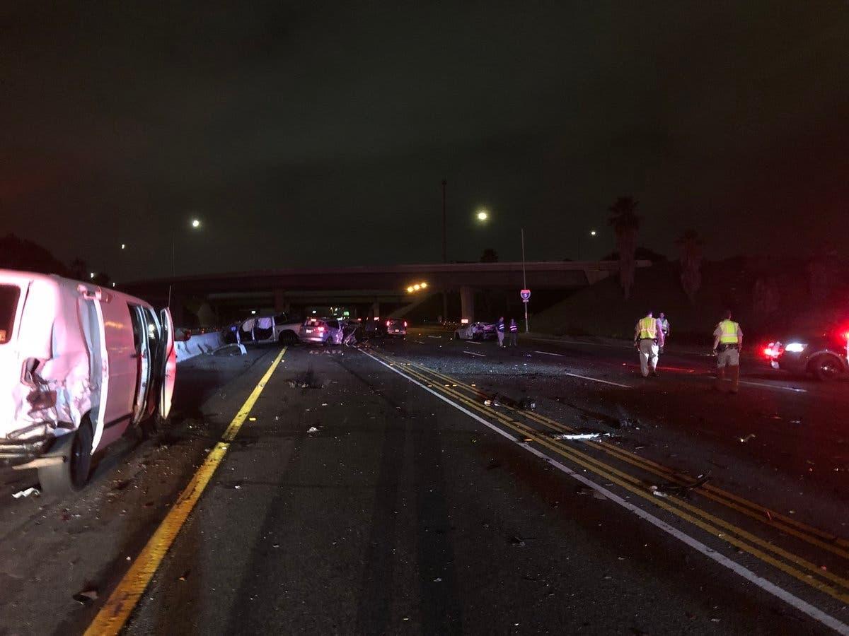 Suspected DUI Crash On I-5 Leaves 1 Dead, 8 Injured | Lake Forest