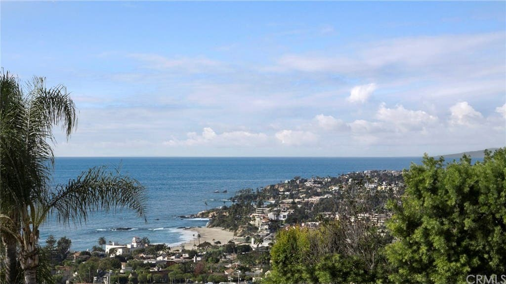 Laguna Beach View Home With French Provencal Kitchen