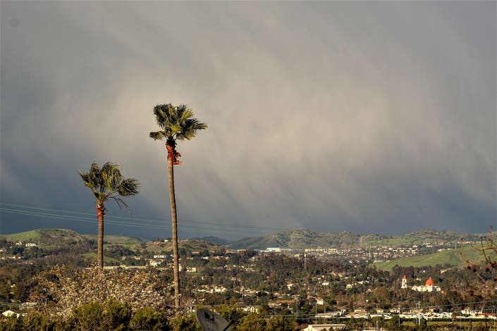 Hail Falls In San Juan Capistrano: Patch Photo Of The Day