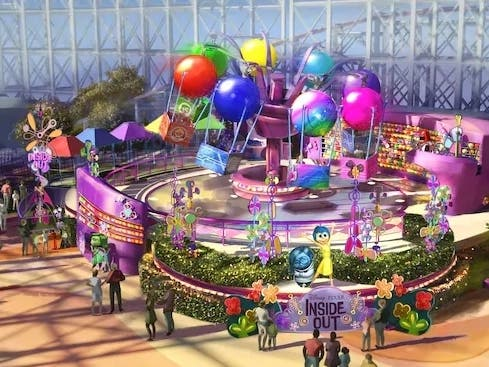 Inside Out Emotional Whirlwind Heads To Pixar Pier