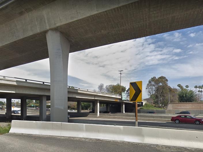 Orange County Freeway Closures As Carpool Lanes Added On I 5 Lake