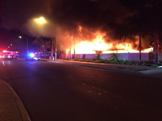 Mother, Son Lose Home In Anaheim House Fire