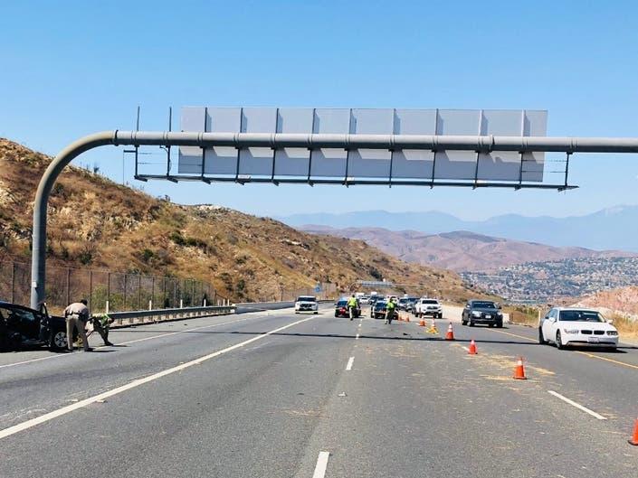 Boy, 7, Dies In Fatal Toll Road Crash