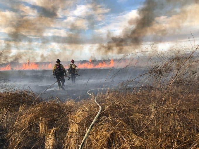 Fossil Fire Breaks Out In Orange County