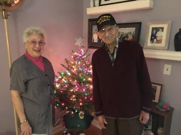 Join The Christmas Card Mission For Mission Viejo WWII Vet & Wife
