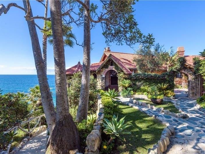 Look Inside This $27M Historic Home In Laguna Beach