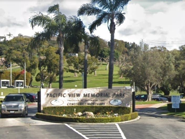 pacific view memorial park in corona del mar california