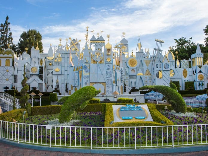 """It may be """"A Small World After All,"""" but Disneyland is too big to reopen at present, according to the governor's office."""