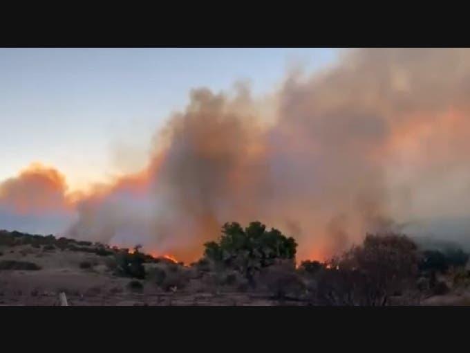 Bond Fire: 6,400 Acres Burn, 10% Containment, School Closures