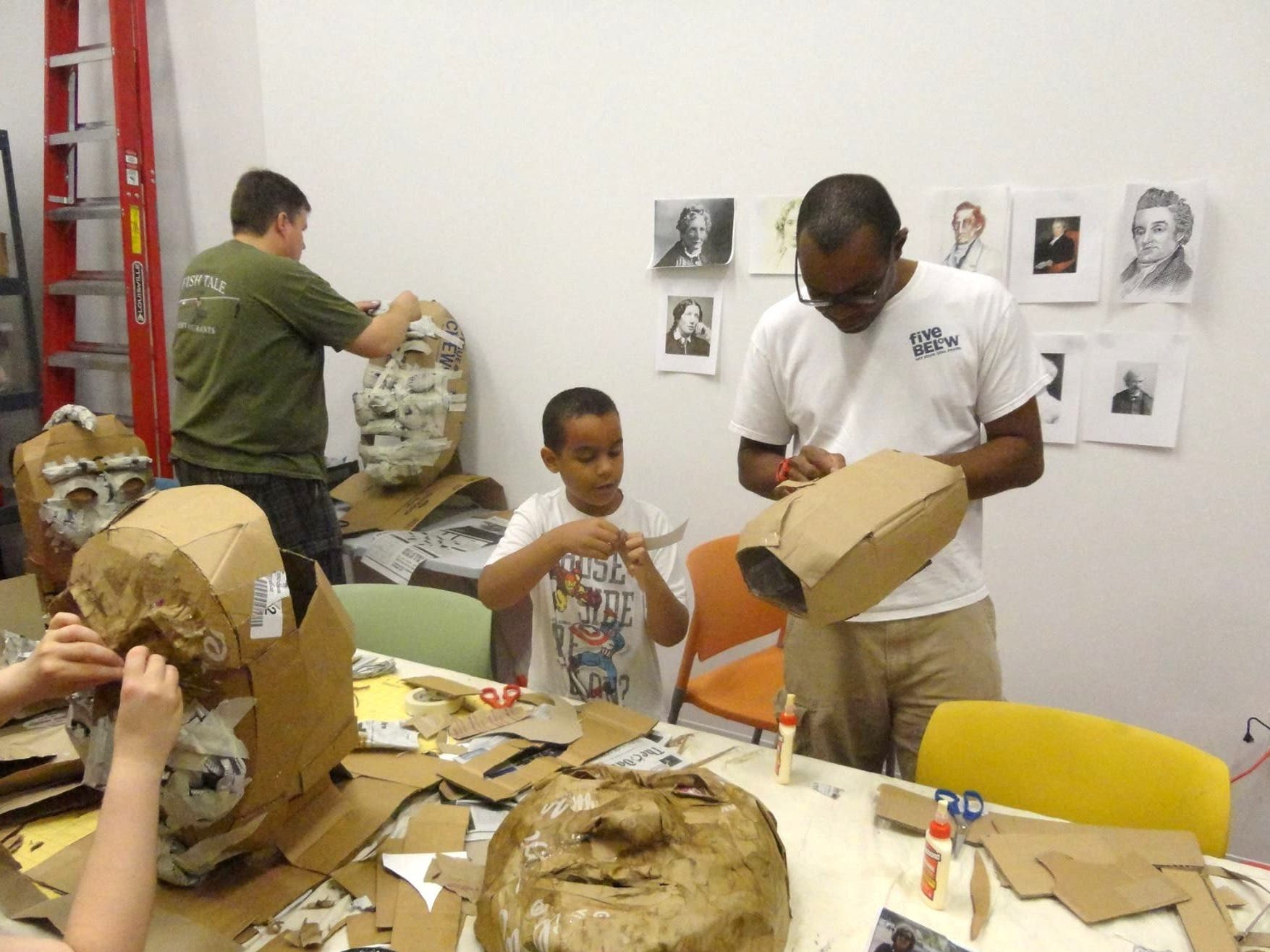 Free Community Puppet-Building Workshops for Celebrate Mansfield