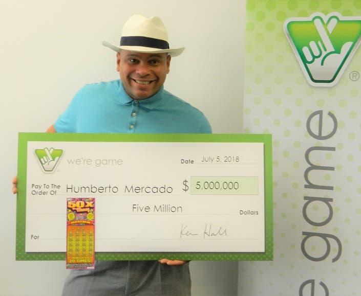 Winning Lottery Ticket Worth $5 Million For Fairfax Man