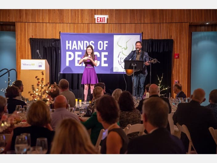 There's still time to bid in Hands of Peace Virtual Benefit