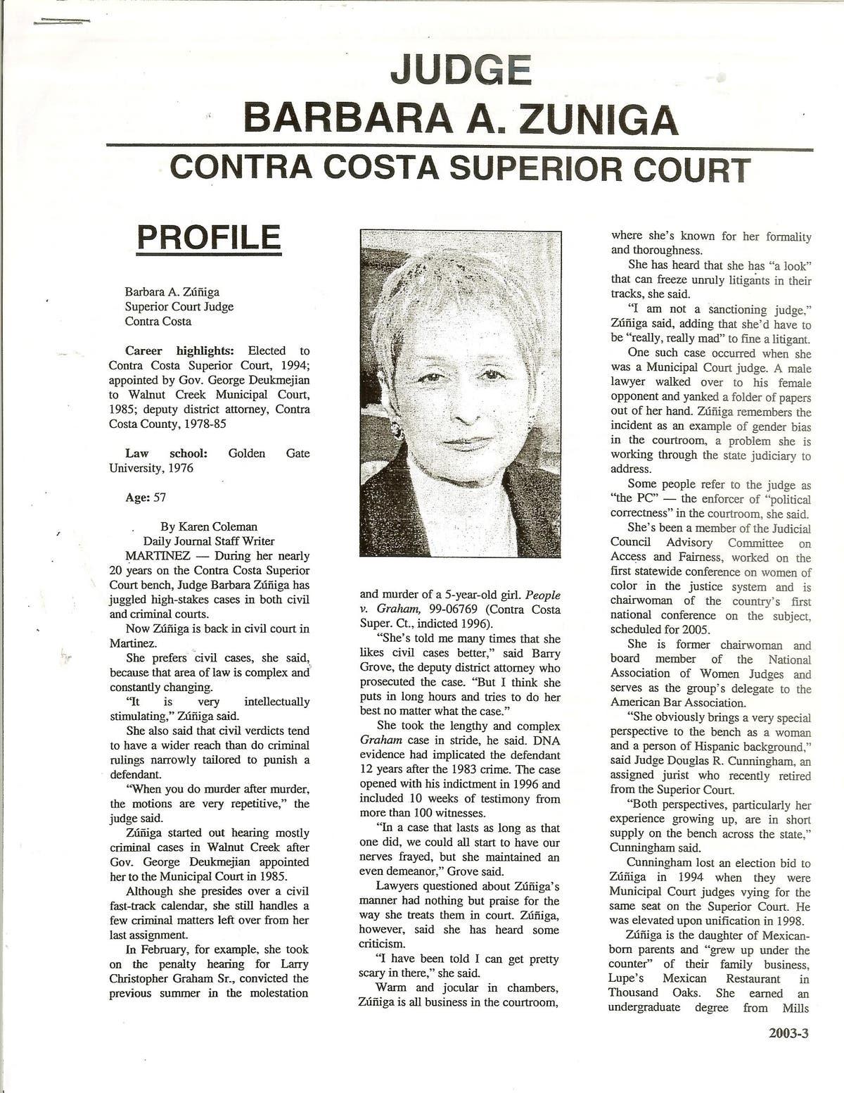 Judges practice their Catholic upbringing in Court: A Cruel