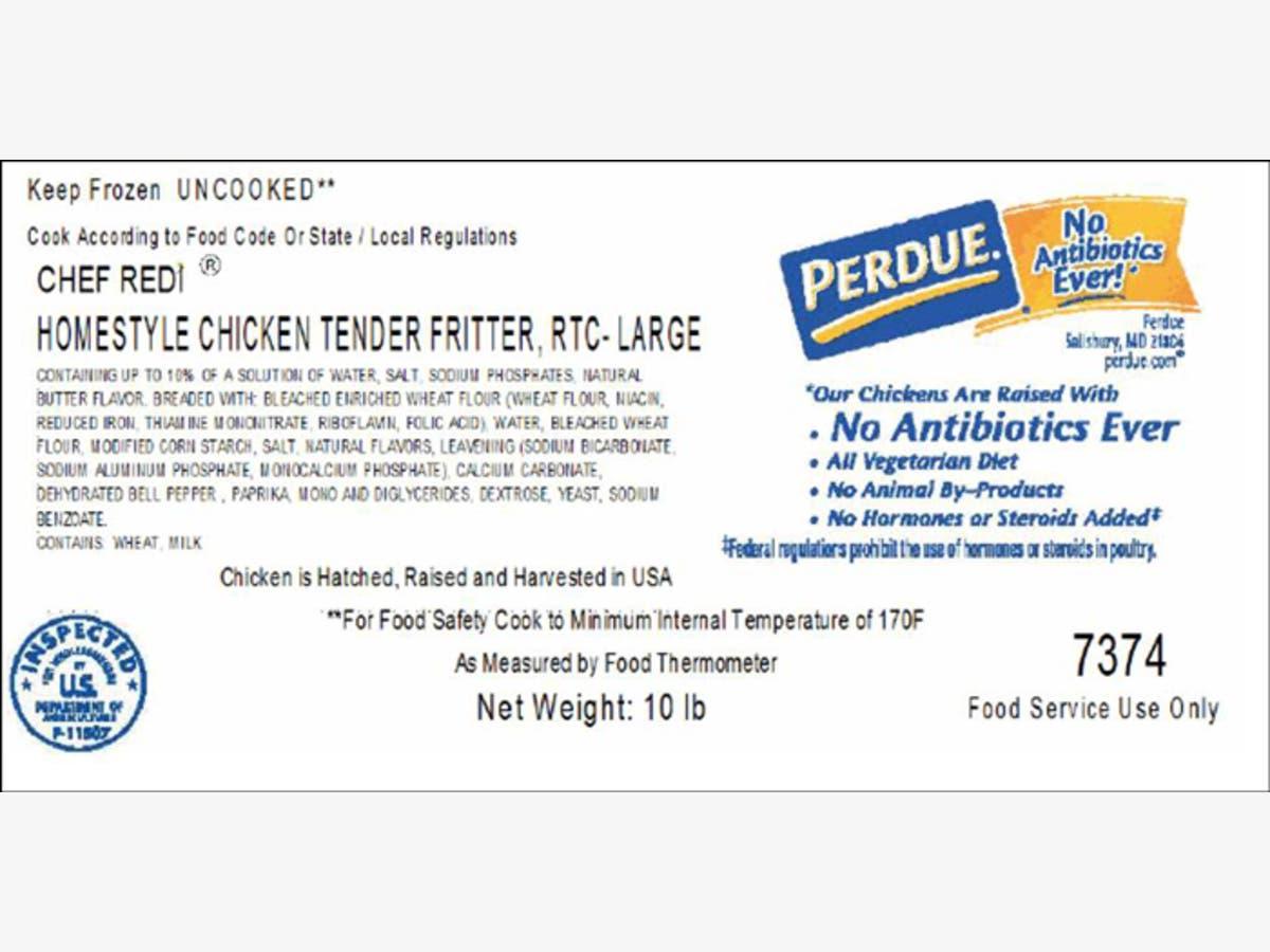 USDA Recalls Chicken Fritters Shipped To D C  | Washington