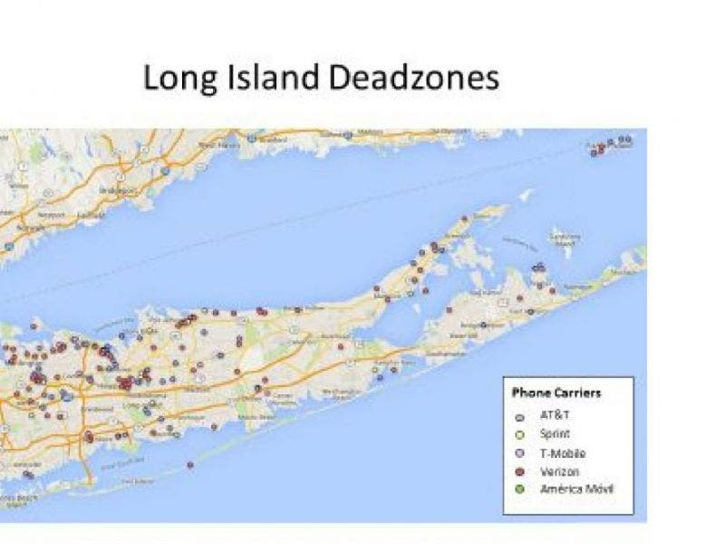 Merrick Long Island Map Sen. Schumer to Wireless Carriers: Improve Your Coverage on Long