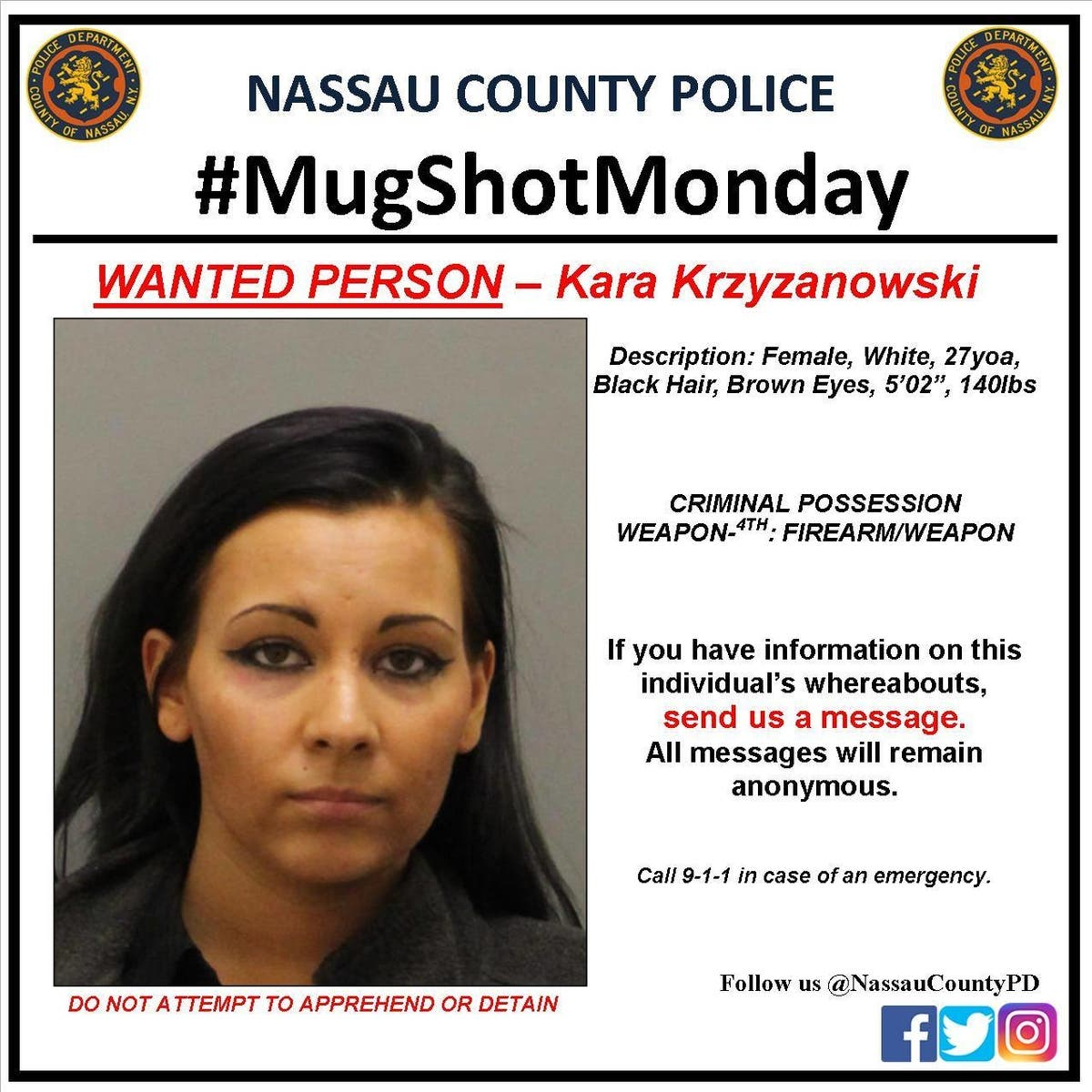 On The Lam: Nassau County Police Mugshot Monday | Rockville