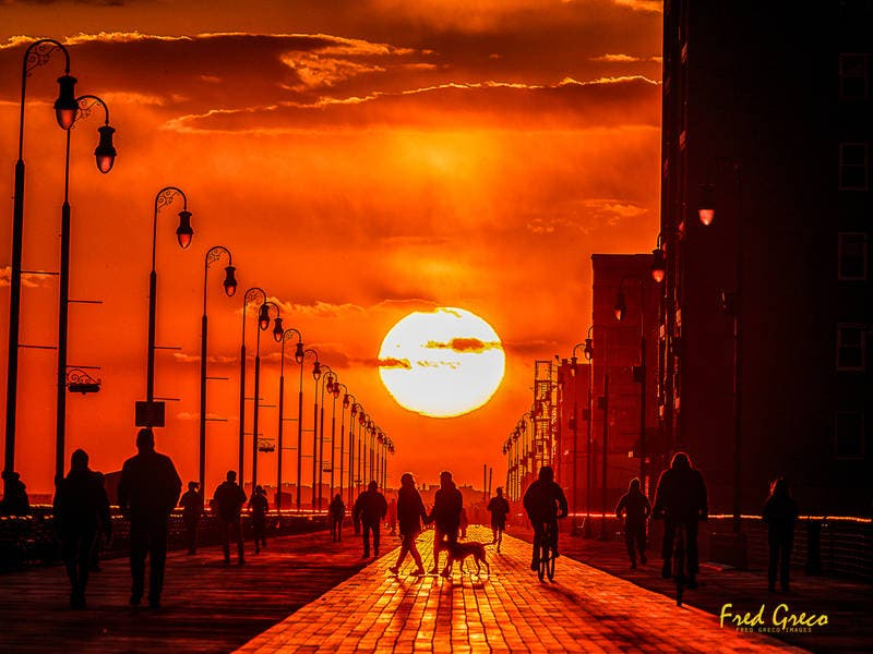 Equinox Creates Unique Long Beachhenge Effect
