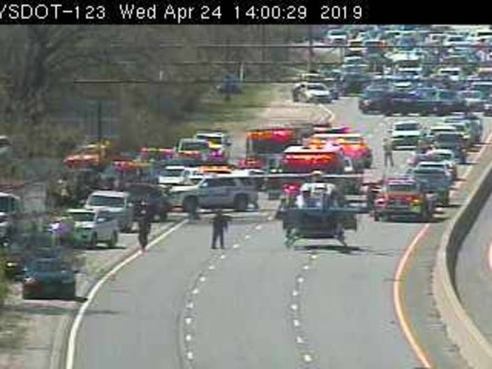 Southern State Closed By Serious Crash