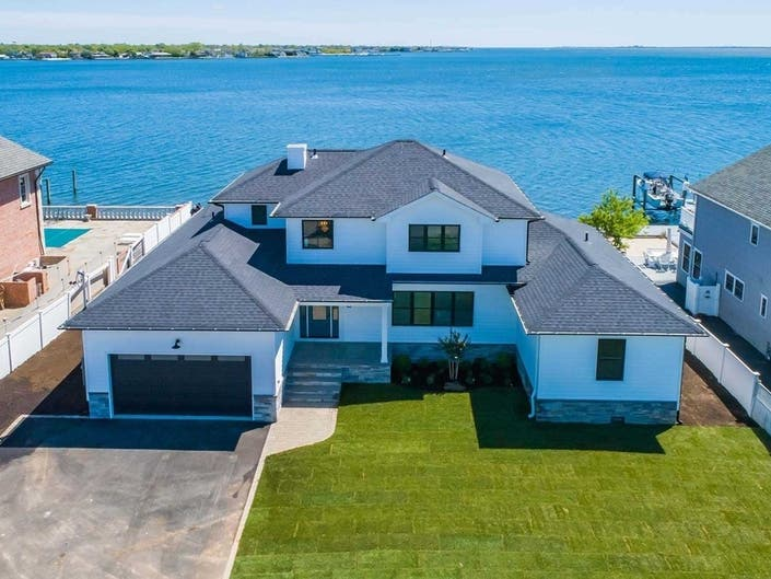 Wow House: Huge, Brand New Home Is A Waterfront Dream
