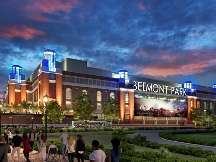 State Breaks Ground On New Islanders Arena At Belmont