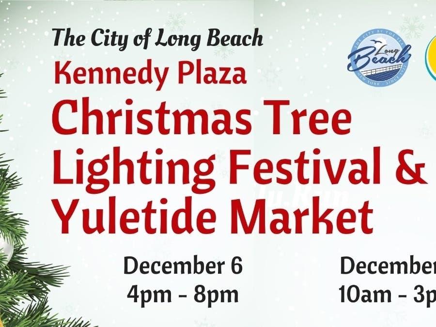 Kennedy Plaza Christmas Tree Lighting 2020 Long Beach Tree Lighting Set For Friday | Long Beach, NY Patch