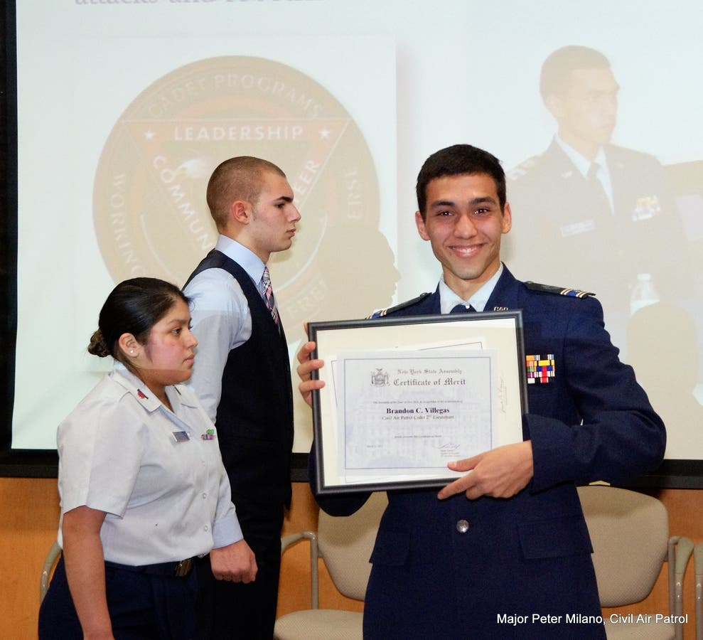 Putnam County Composite Squadron holds awards and promotions