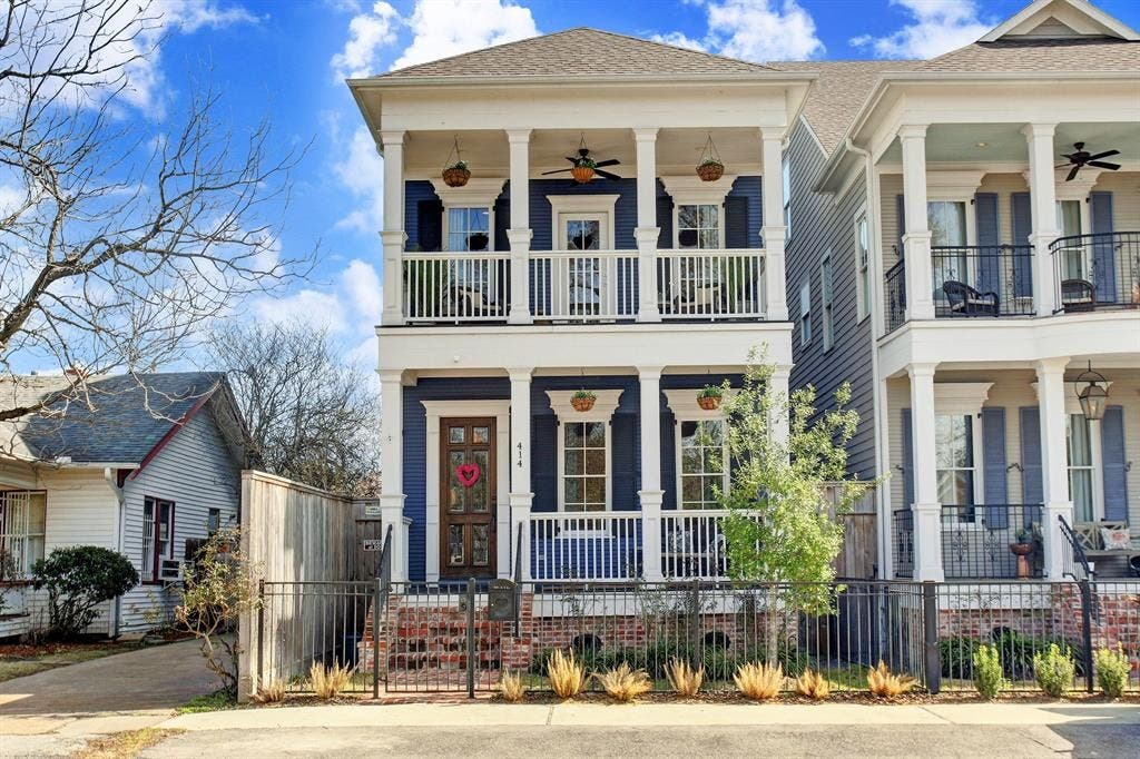 This New Orleans Style Home In The Heights Is One You Must See Houston Tx Patch