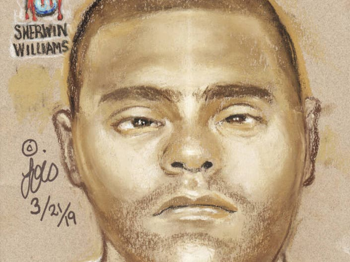 HPD Releases Sketch Of Suspect In Double Murder