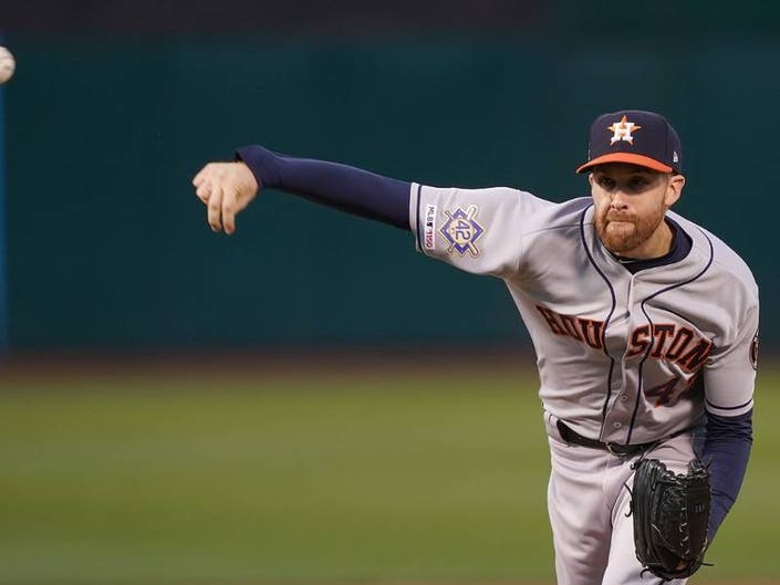 Astros Collin McHugh Goes Full Matrix To Dodge Line Drive: Video