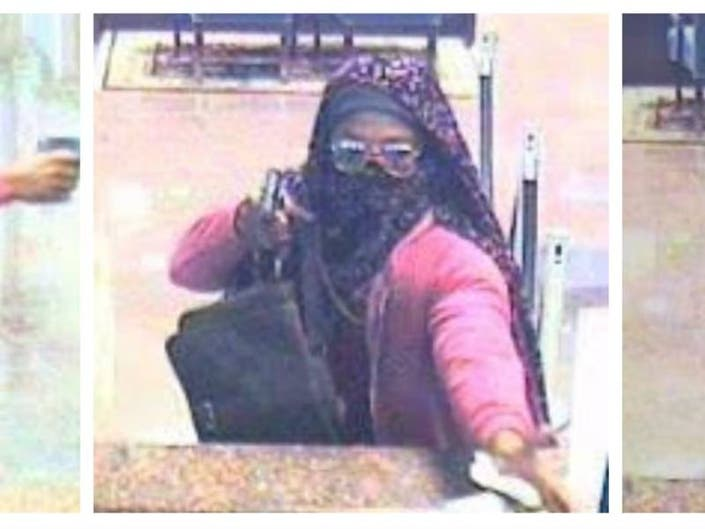 FBI Searching For Cross-Dressing Bandit Who Held Up IBC Bank