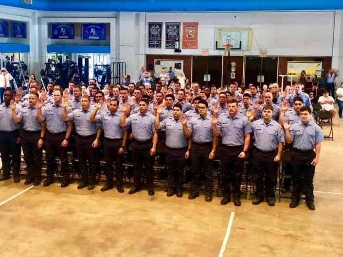 City Swears In 66 Firefighter Cadets After Prop B Ruling