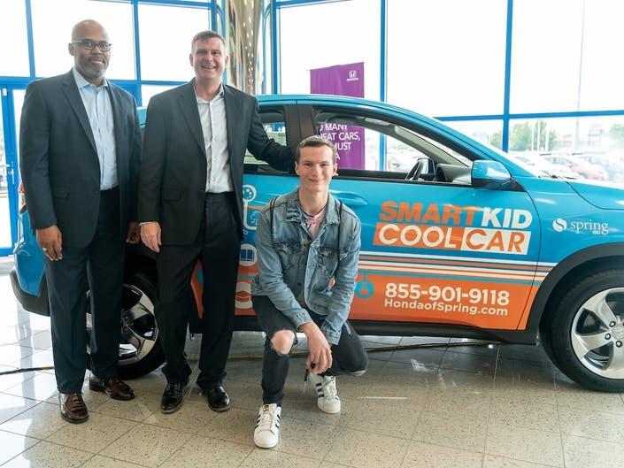 Honda Of Spring Awards Free Car To College-Bound Wunsche Senior