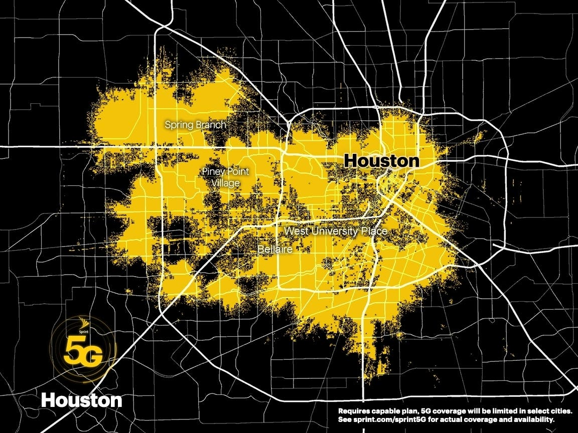 River Oaks Texas >> Sprint Launches 5G Service In Houston, Other US Cities. | Houston, TX Patch