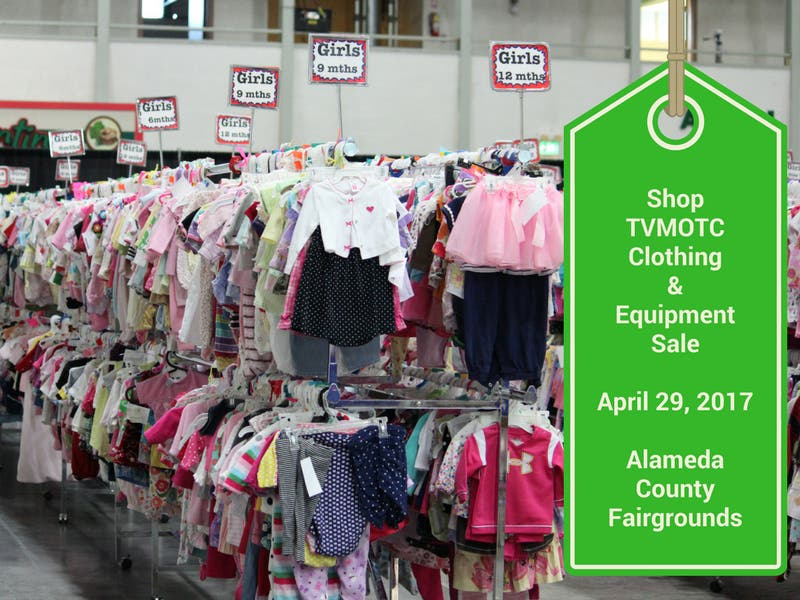 3c70b8415 Shop TVMOTC Kids Clothing and Equipment Consignment Sale @Alameda Co.  Fairgrounds. Save Up to 90% Retail!