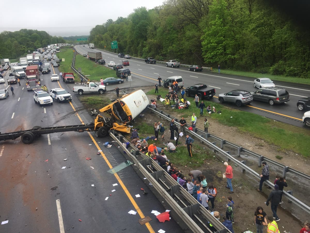 2 Killed, 43 Injured In Rt  80 School Bus Crash | Long Valley, NJ Patch