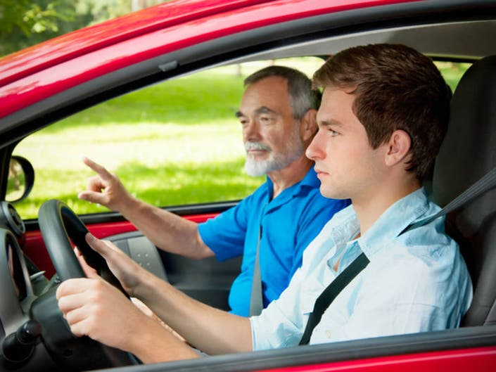 drivers license test car requirements