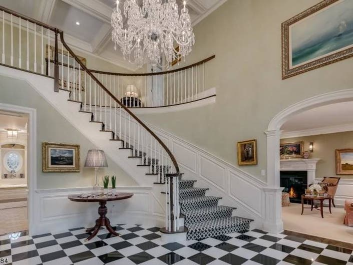 Sprawling $4.2M Morris Co. Mansion Has A Gift Wrapping Room