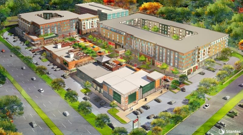 Restaurants Park Apartment Complex Coming To Parsippany