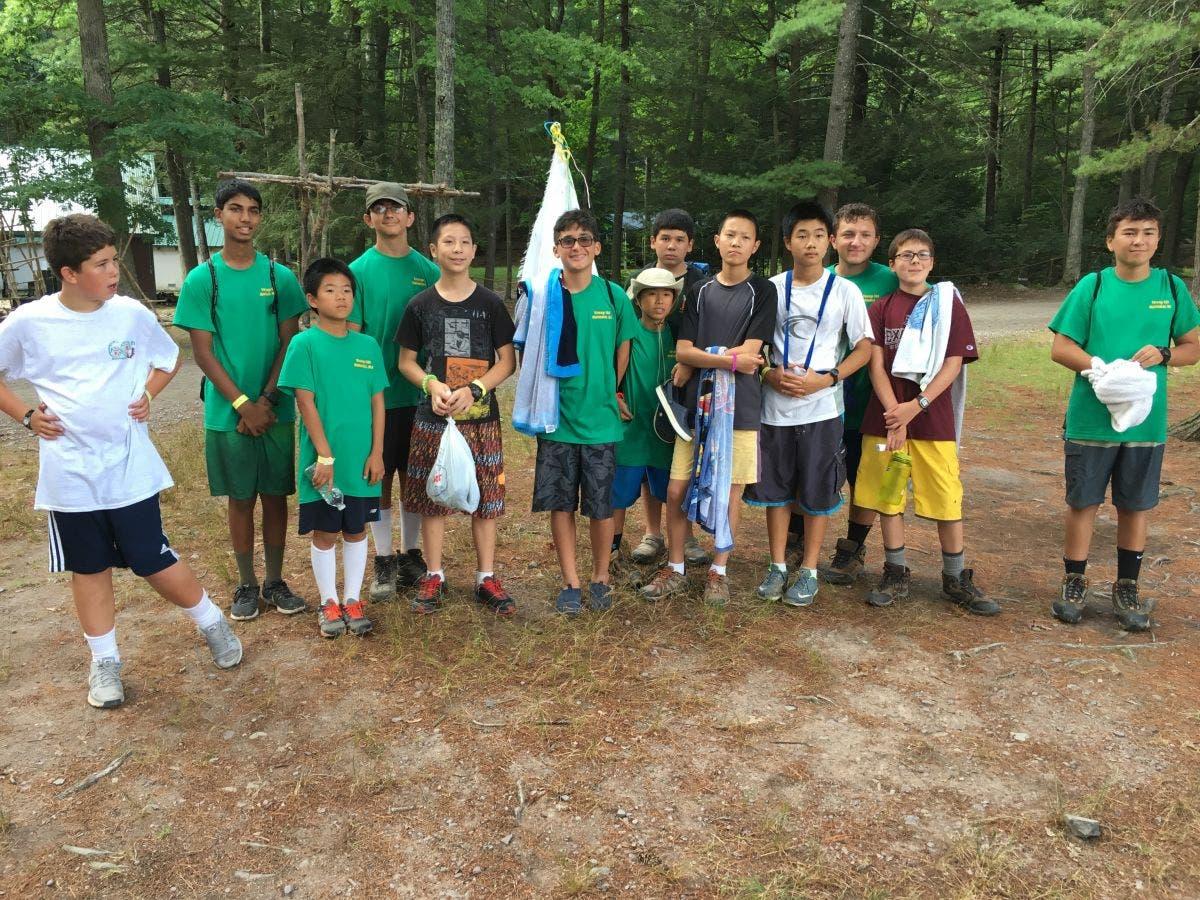 Holmdel Troop 131 Advances at Forestburg Scout Reservation
