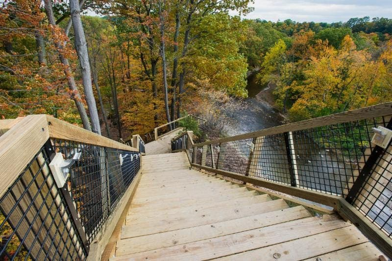 Cleveland Metroparks Open New Fort Hill Stairs At Rocky