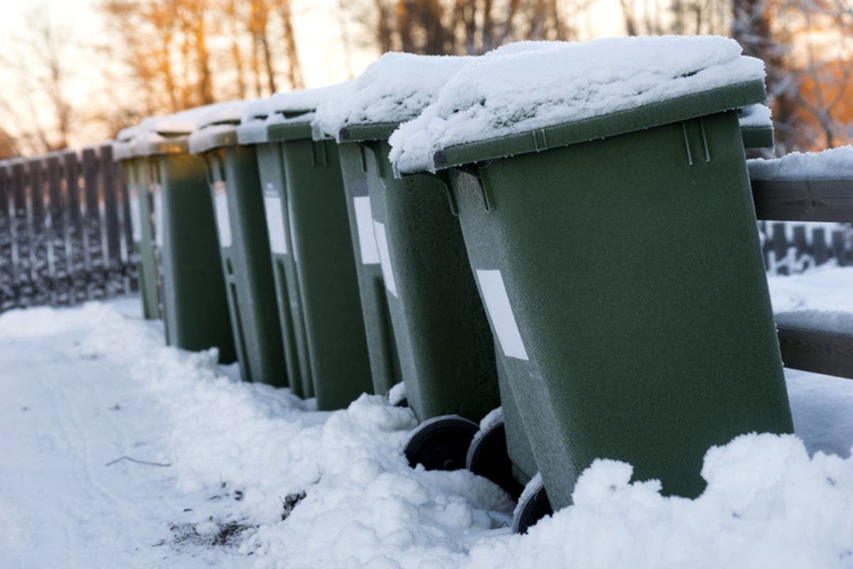 Trash Collection Delayed In Strongsville Due To Weather Strongsville Oh Patch There are between 7 and 8 total known. trash collection delayed in