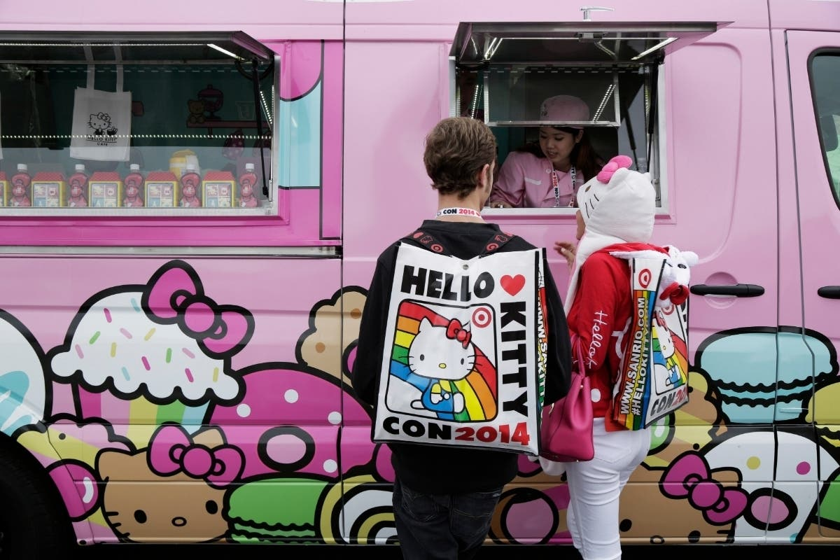 Hello Kitty Truck Comes To Crocker Park Saturday | Westlake